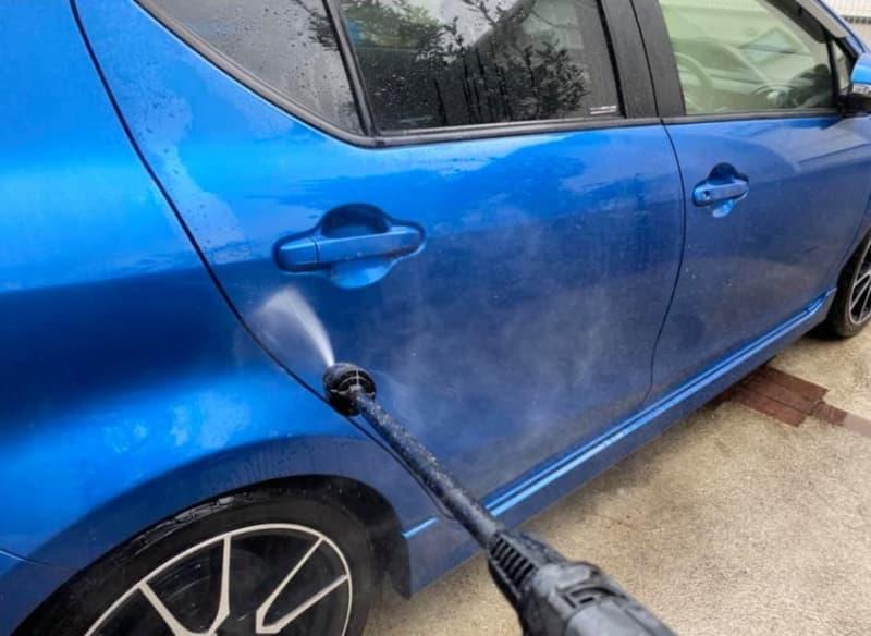 【ケルヒャー】『K3サイレントベランダ』で駐車場&車を高圧洗浄してみた