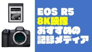 EOS R5におすすめ『ProGrade Digital CFexpress Type B COBALT カード』【8Kの記録メディア】